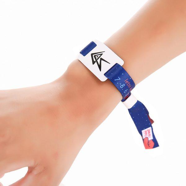 13.56MHz NFC event wristband