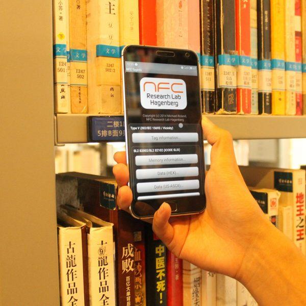 rfid tag for library shelf