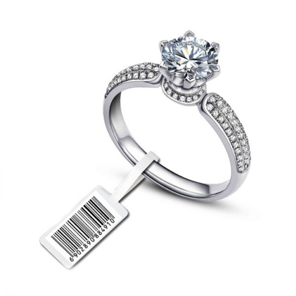 anti-theft jewelry tag