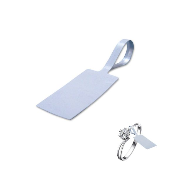 disposable jewelry tag
